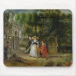 Rubens y Elena Fourment en el jardín Alfombrilla De Ratones