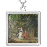 Rubens y Elena Fourment en el jardín Colgante Cuadrado