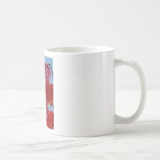 Rubeum Tulipa abstracta Coffee Mug