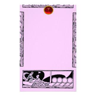 RUBÍ ANTIGUO del AMOR, rosado Papelería