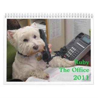 Rubí: La oficina 2011 Calendario De Pared