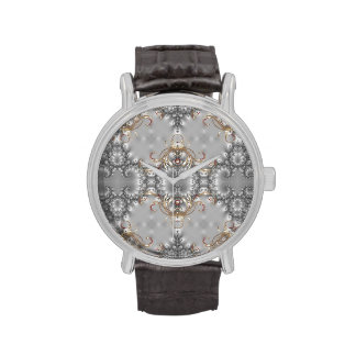 Rubí - oro - diamante - plata - reloj de lujo