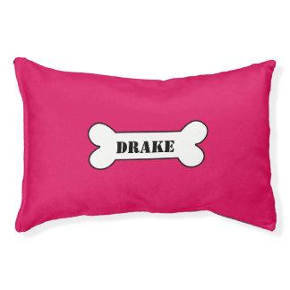 Rubí personalizado cama para perro pequeño