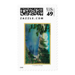 Rubicon Point ViewLake Tahoe, CA Postage Stamp