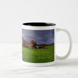 Rubicon Ranges Two-Tone Coffee Mug