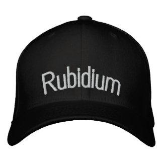 Rubidium Embroidered Baseball Hat