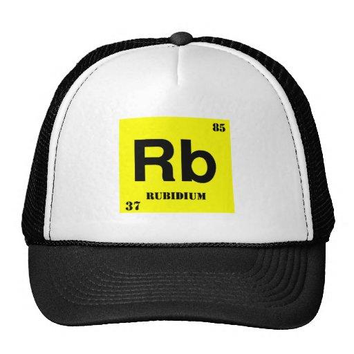 Rubidium Trucker Hats