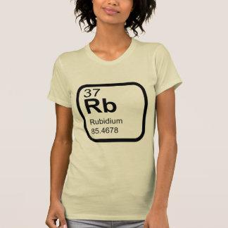 Rubidium - Periodic Table science design T-Shirt