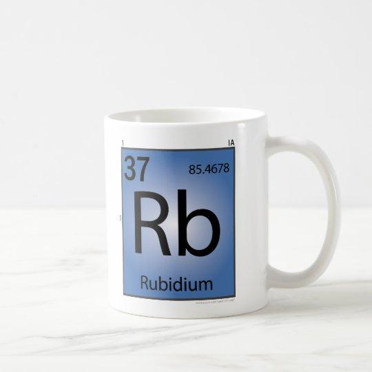 Rubidium (Rb) Element Mug