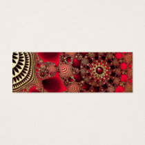 Rubies & Gold Bookmarks