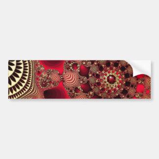 Rubies & Gold Bumper Sticker