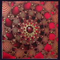 Rubies & Gold Napkin