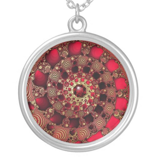 Rubies & Gold Necklace