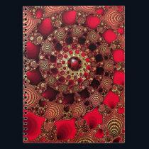 Rubies & Gold Notebook