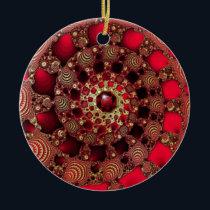 Rubies & Gold Ornament