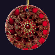 Rubies & Gold Ornament