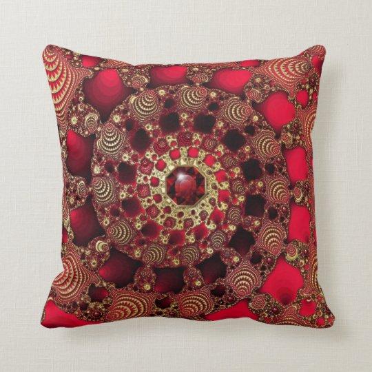 Rubies & Gold Pillow
