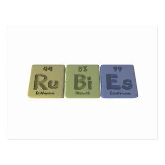 Rubies-Ru-Bi-Es-Ruthenium-Bismuth-Einsteinium.png Postcard