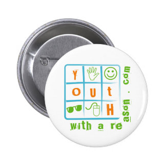 Rubiks Cube Badge Button