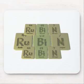 Rubin as Ruthenium Bismuth Nitrogen Mouse Pad