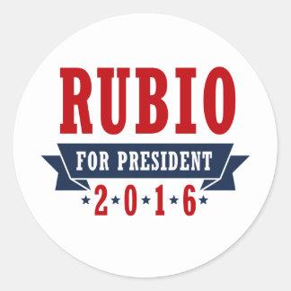 RUBIO 2016 CERTIFIED RIBBON -.png Sticker