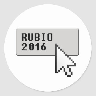 RUBIO 2016 CURSOR CLICK -.png Round Stickers