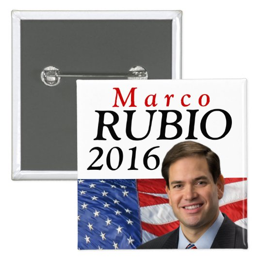 Rubio 2016, Marco for President Button