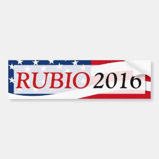 Rubio 2016, Marco para el presidente Etiqueta De Parachoque
