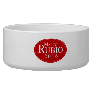 RUBIO 2016 OVALESQUE -.png Dog Bowl