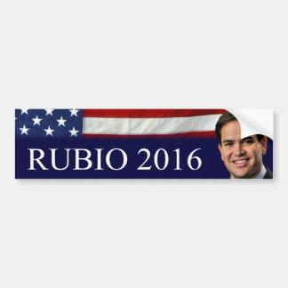 Rubio 2016 pegatina para auto