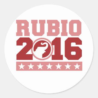 RUBIO 2016 ROUND ELEPHANT -.png Stickers