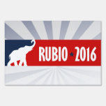 RUBIO 2016 SPORTBUMPER -.png Lawn Signs