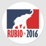 RUBIO 2016 SPORTPRO -.png Classic Round Sticker