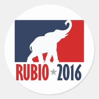 RUBIO 2016 SPORTPRO -.png Round Sticker