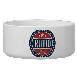 RUBIO 2016 STARCIRCLE -.png Dog Bowl