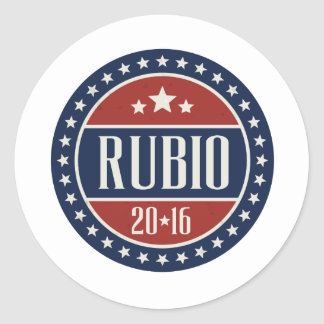 RUBIO 2016 STARCIRCLE -.png Stickers