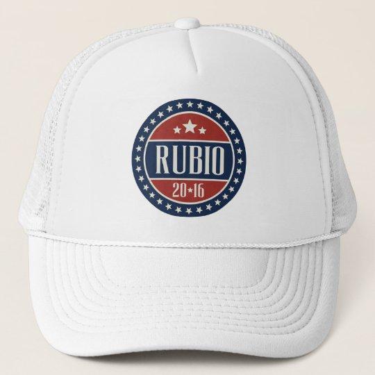 RUBIO 2016 STARCIRCLE -.png Trucker Hat