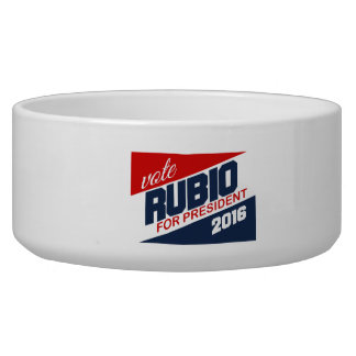RUBIO 2016 SUPPORTER -.png Dog Bowl