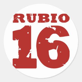 RUBIO 2016 UNIFORM DISTRESSED -.png Stickers