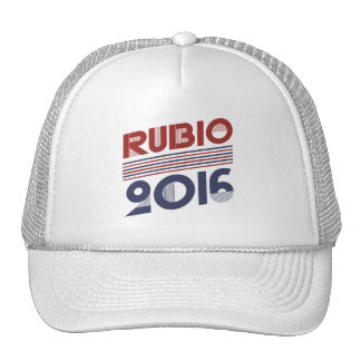 RUBIO 2016 VINTAGE STYLE -.png Trucker Hat