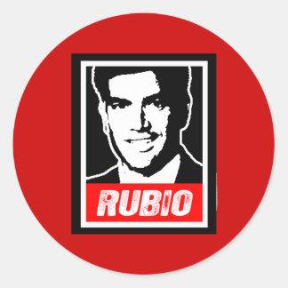 RUBIO CLASSIC ROUND STICKER