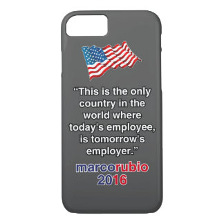 RUBIO EMPLOYER iPhone 7 CASE