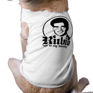 RUBIO ES MI HOMEBOY png Camisa De Mascota