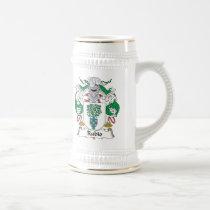 Rubio Family Crest Beer Stein