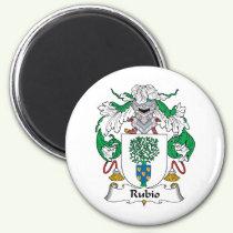 Rubio Family Crest Magnet