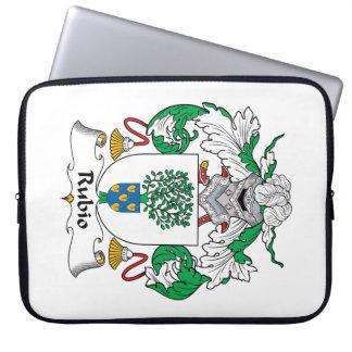 Rubio Family Crest Laptop Sleeve
