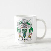 Rubio Family Crest Mug