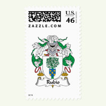 Rubio Family Crest Stamps