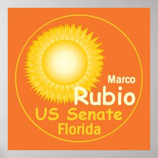 RUBIO Florida Senate POSTER Print