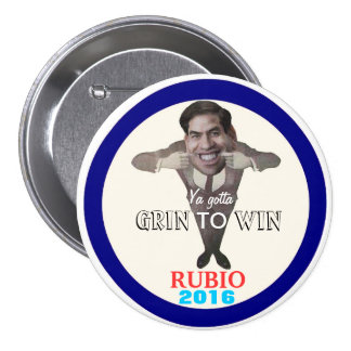 Rubio for President 2016 Pinback Buttons